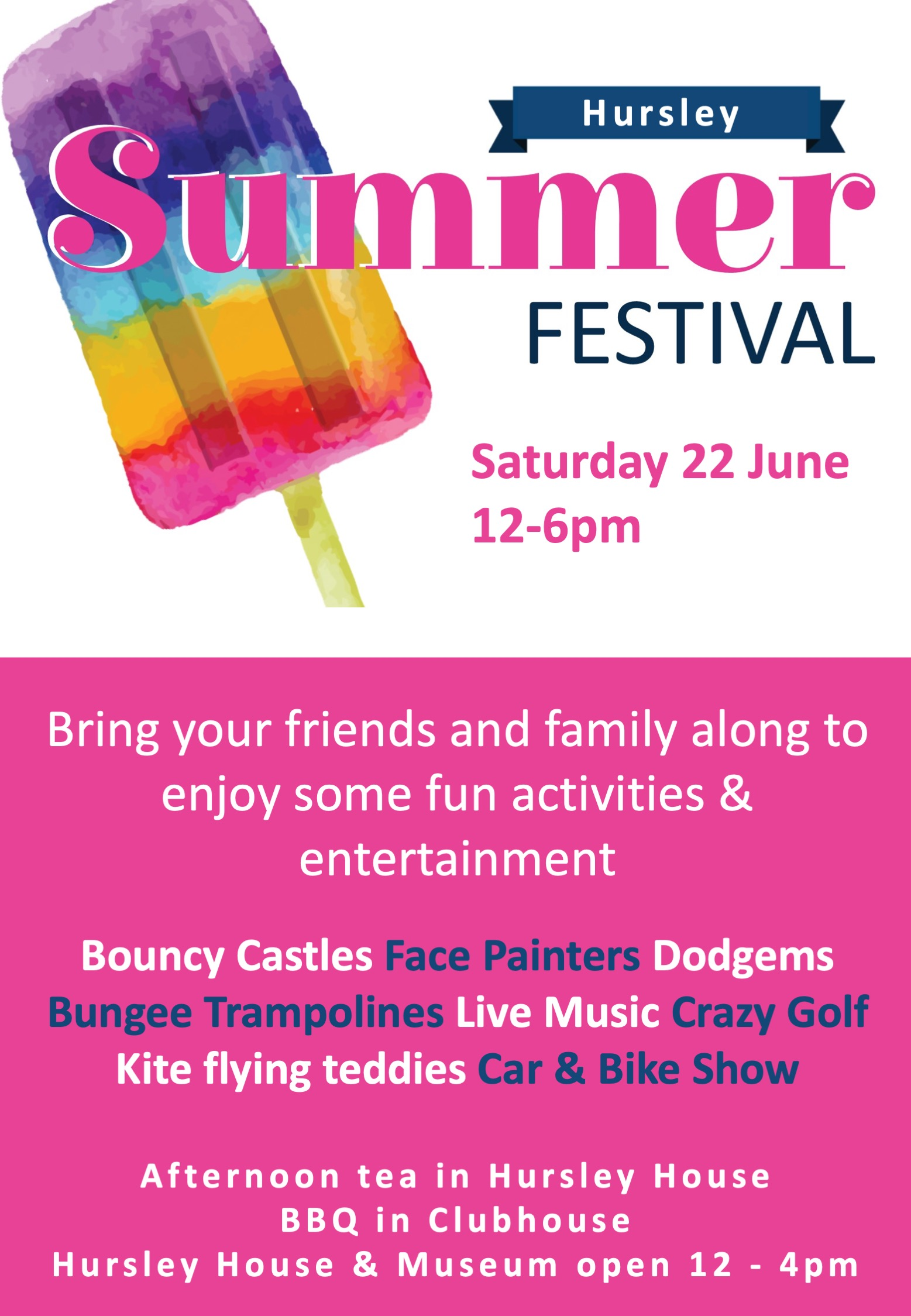 Hursley Summer Festival 2019
